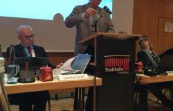Werner Stöckle bei seiner Rede